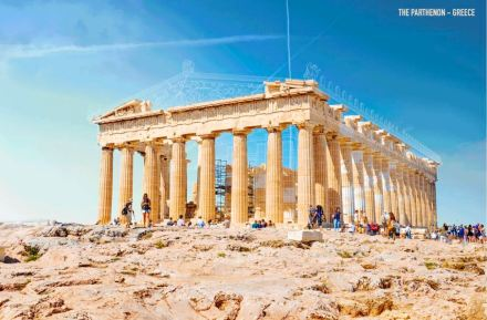 Screenshot of the Parthenon on Expedia website.