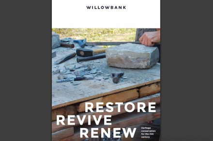 Cover of a brochure from Willowbank.