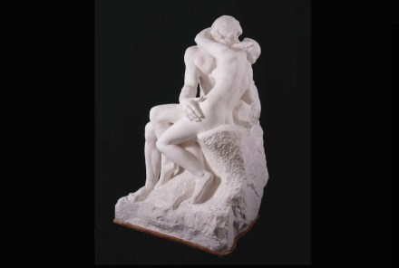 Auguste Rodin: The Kiss, large version, after 1898, Plaster, cast from first marble version, of 1888–98 © Musée Rodin.