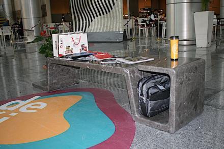 "Award for best cooperation. ""U-bench"". Company: Limra Mermer. Design: Gizem Karataş (Orta Doğu Teknik Üniversitesi)."