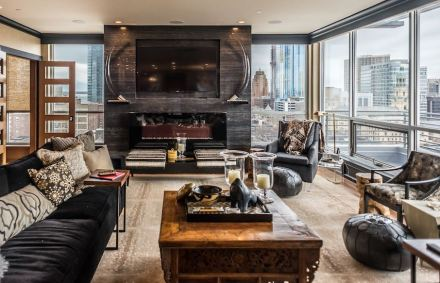 CID-Awards: Design category, Grand Prize. Project: Exclusive Residential Apartment. Designer: Farr Interiors. Location: Milwaukee, WI.