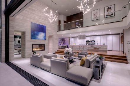 CID-Awards: Design category, Residential Stone. Project: Luxury Modern Design. Designer: Gaskin Designs & Development. Location: West Hollywood, CA.