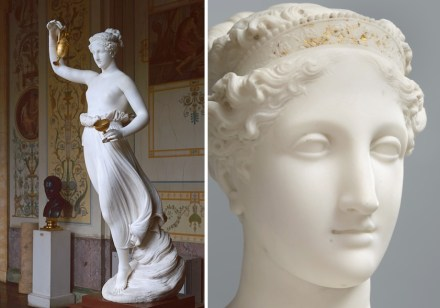 "Antonio Canova, ""Hebe"", 1812–16. Source: Aurelio Amendola / State Hermitage Museum, St Petersburg"