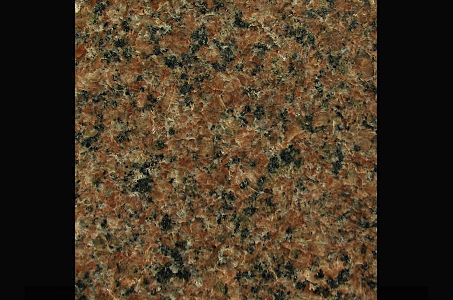 Granite crystallizes at a temperature 200 degrees lower than