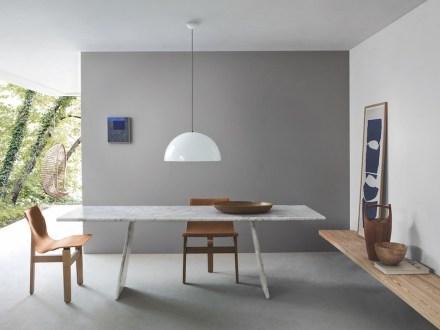 "Angelo Mangiarotti: Table ""Asolo"" (1978)."