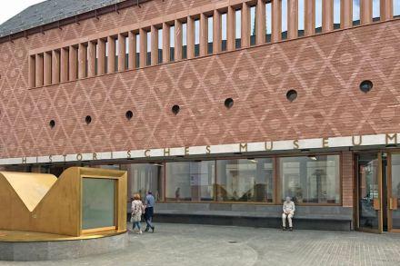 Lederer Ragnarsdóttir Oei took first prize for their construction of the Historisches Museum Frankfurt/Main. Photo: Roland Halbe, Stuttgart