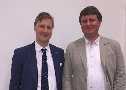 The Euroroc co-presidents for 2018-2020: Kristof Callebaut (left) and Stijn Renier.