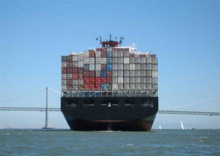 "What will the coming IMO-caps mean for international container shipping? Photo: Mgunn / <a href=""https://commons.wikimedia.org/""target=""_blank"">Wikimedia Commons</a>"
