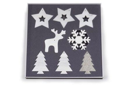 Chatzisavvas: Christmas decoration items.