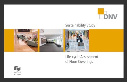 "German Natural stone Association (DNV): ""Sustainability study – Life-cycle Assessment of Floor Coverings""."