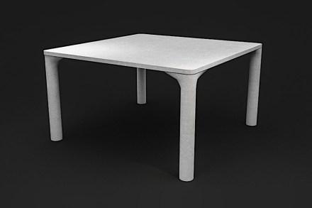 """Laboratorio del Marmo: """"Fluid"""". Design: Simone Micheli."""