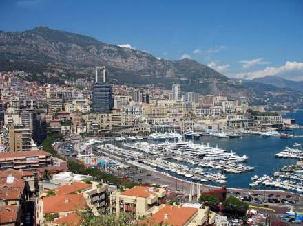 Port Hercule, Monaco. Photo: R Meehan / Wikimedia Commons