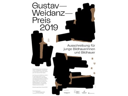 Faltblatt zum Gustav-Weidanz-Preis 2019.