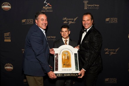 Joey Marcella (center).