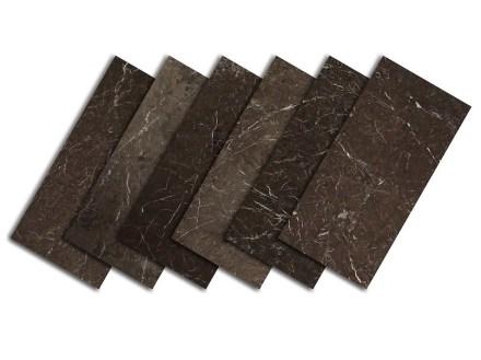 Dark Olive limestone: Color range.