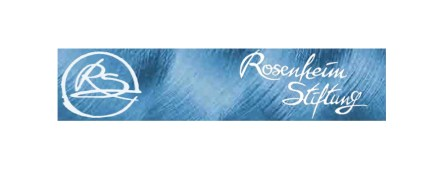 The logo of the Bernd and Gisela Rosenheim-Foundation.