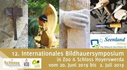 12. Internationales Bildhauersymposium in Hoyerswerda.
