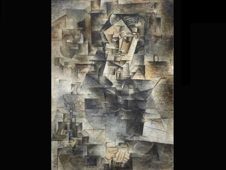 """Pablo Picasso: """"Porträt von Daniel-Henry Kahnweiler"""" 1910, Art Institute of Chicago. Quelle: Art Institute of Chicago / <a href=""""https://commons.wikimedia.org/wiki/Main_Page""""target=""""_blank"""">Wikimedia Commons </a>"""