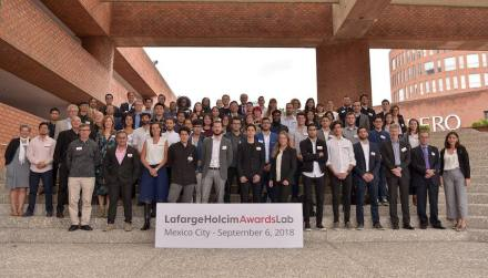 25 countries were represented at the international LafargeHolcim Next Generation Awards Lab hosted by Universidad Iberoamericana (IBERO) in Mexico City.