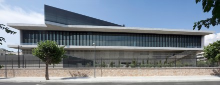 Southern façade of the Museum. Photo: Acropolis Museum / Nikos Daniidis