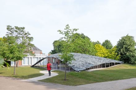 The Serpentine Pavilion 2019. Photo: Norbert Tukaj