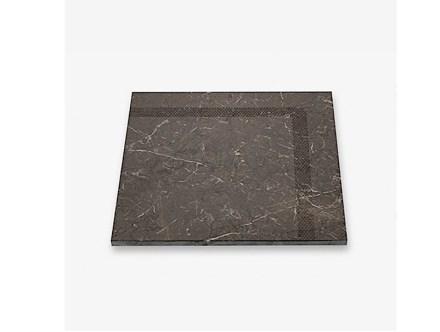 """Tile Collection: """"Frame"""", Marble Dark Olive."""