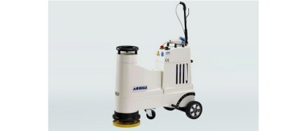 Universal 1-phase floor grinder LM30-VE: Universal floor grinding and polishing machine for stone floors.