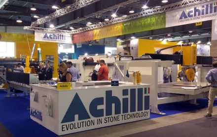 Achilli's booth at last year's fair.