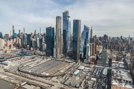 New York City, Hudson Yards.