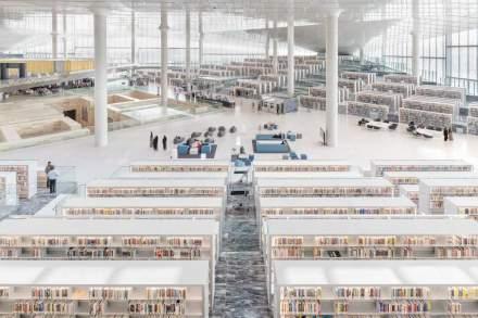 Qatar National Library. Foto: Delfino Sisto Legnani und Marco Cappelletti.