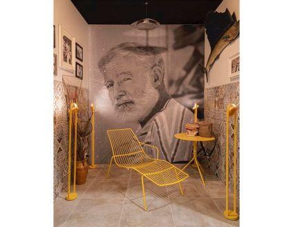 Pedrali: Ernest Miller Hemingway.