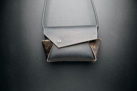 """""""Paarl"""", handbag by Pearl De Buck."""