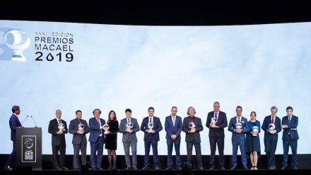 The winners of the Premios Macael 2019.
