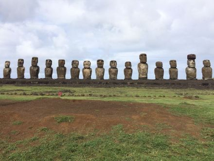"""Mysterious stone statues on Easter Island. Photo: Camill1336 / <a href=""""https://commons.wikimedia.org/""""target=""""_blank"""">Wikimedia Commons</a>"""
