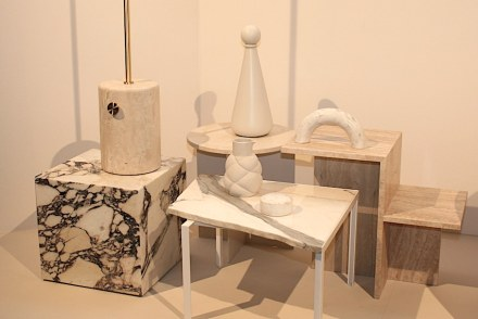 """Presentation """"Trend Atmospheres"""" by IMM Cologne's creative director, Dick Spierenburg, and stylist Floor Knaapen."""