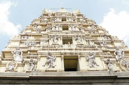 """One of Bangalore's tourist attractions is the Bull-Temple. Photo: Marc Smith / <a href=""""https://commons.wikimedia.org/""""target=""""_blank"""">Wikimedia Commons</a>"""