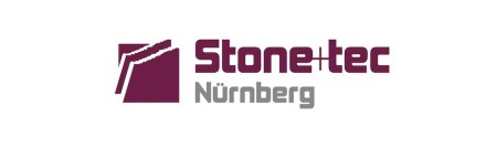 Logo of Stone+tec trade fair.