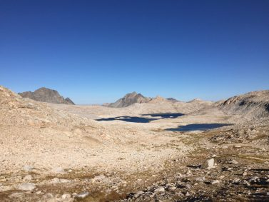 Climbing from Wanda Lake to Muir Pass (1)