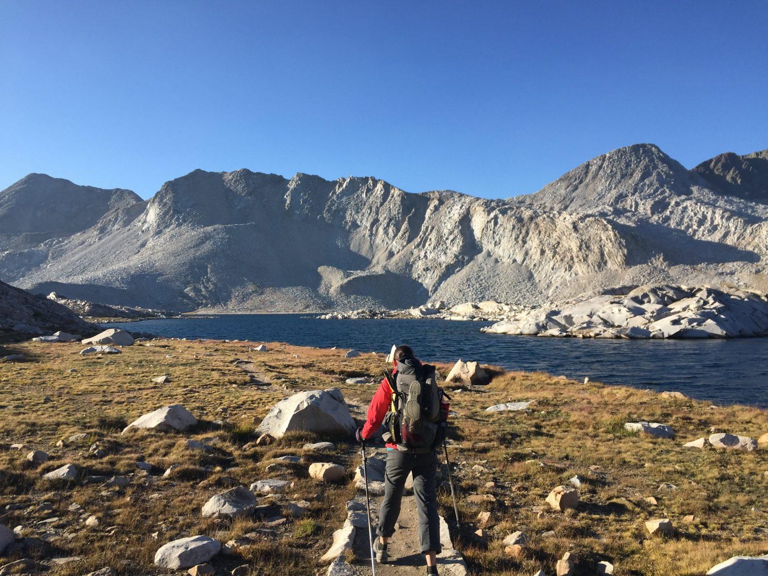 Climbing from Wanda Lake to Muir Pass (3)