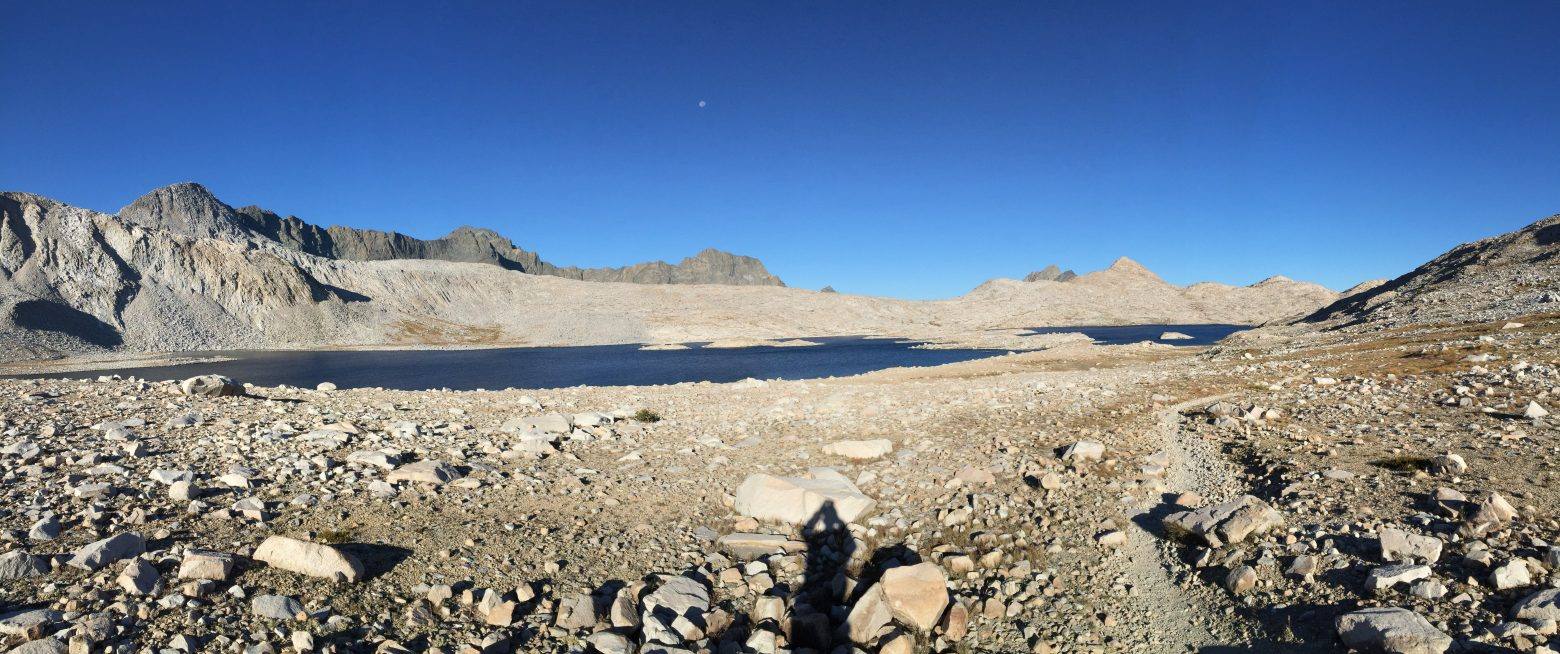 Climbing from Wanda Lake to Muir Pass (4)