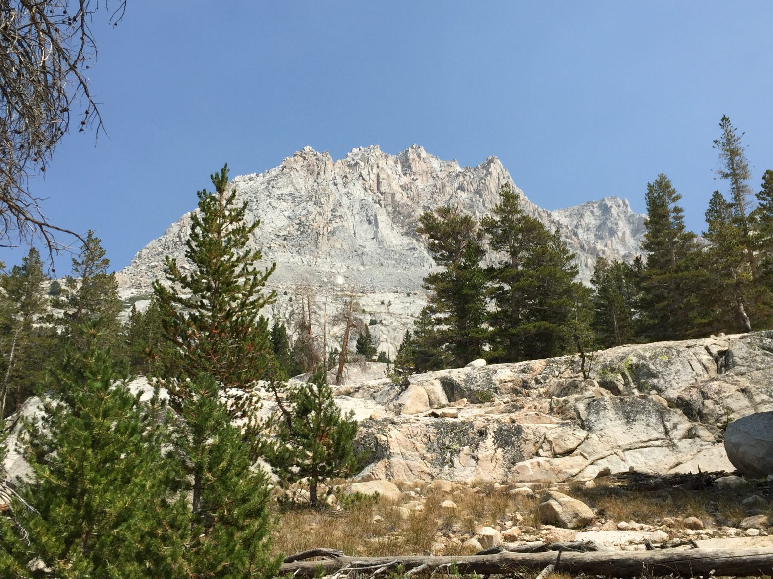 Climbing to Evolution Basin (2)
