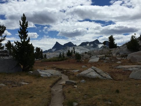 Coming down from Donohue Pass (2)