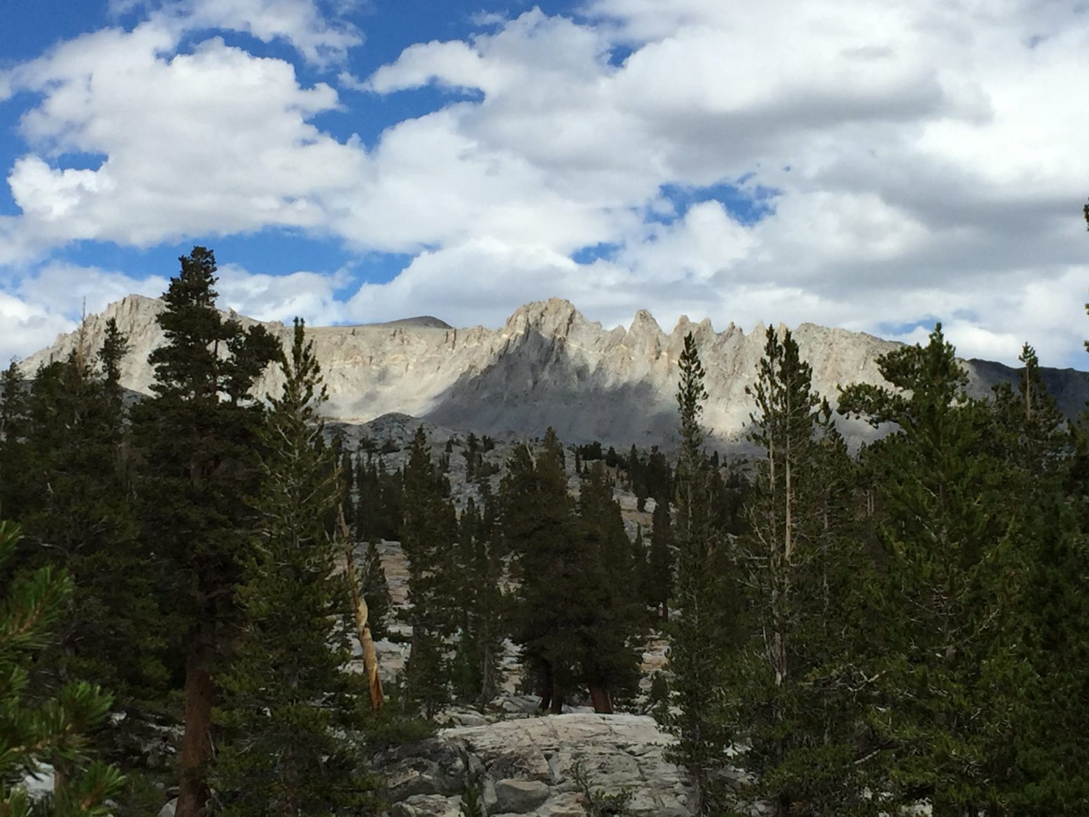 Coming down from Donohue Pass (4)