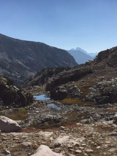 Coming down from Muir Pass (1)