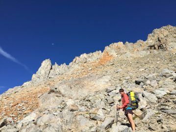Coming down from Pinchot Pass (3)