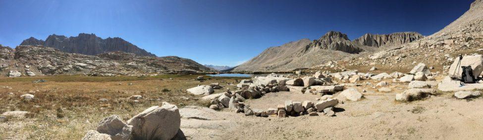 Final campsite at tarn above Guitar Lake (2)