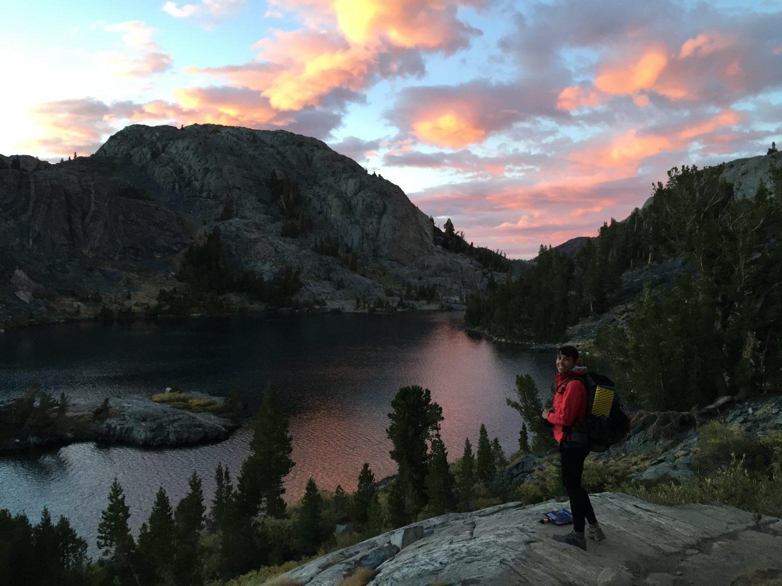 Garnet Lake sunset