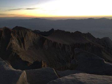 Sunrise on the summit of Mt. Whitney (11)