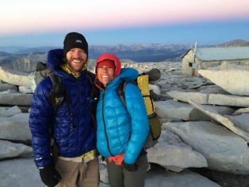 Sunrise on the summit of Mt. Whitney (12)