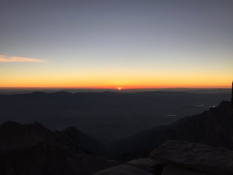 Sunrise on the summit of Mt. Whitney (15)